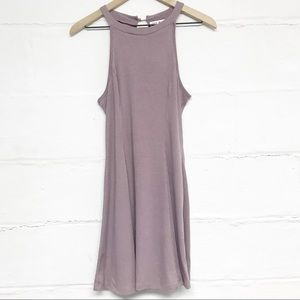NWT Say What Dusty Lavender Sleeveless Dress Sz S